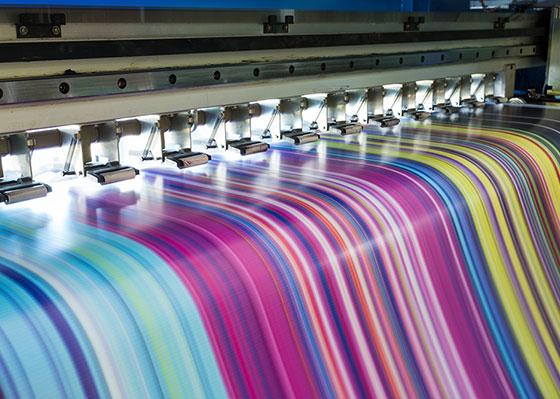 Digitaldruckmaschine Großformat